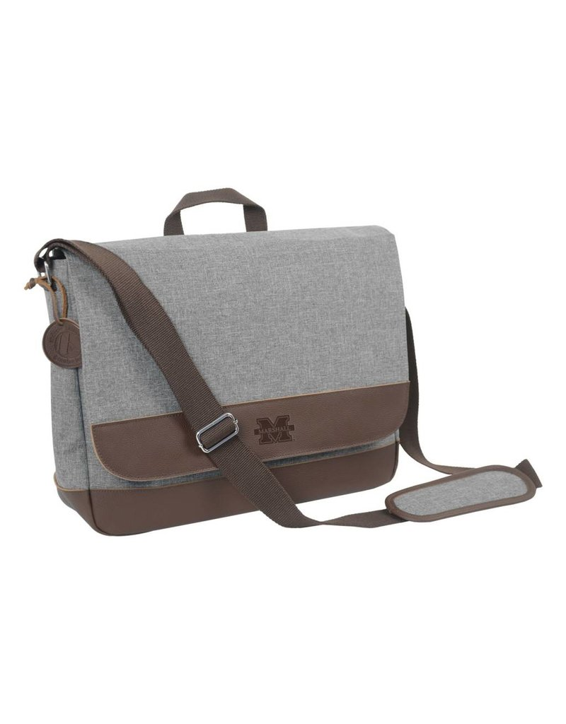 Marshall Heathered Messenger Bag