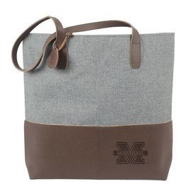 Marshall Leather Heathered Tote