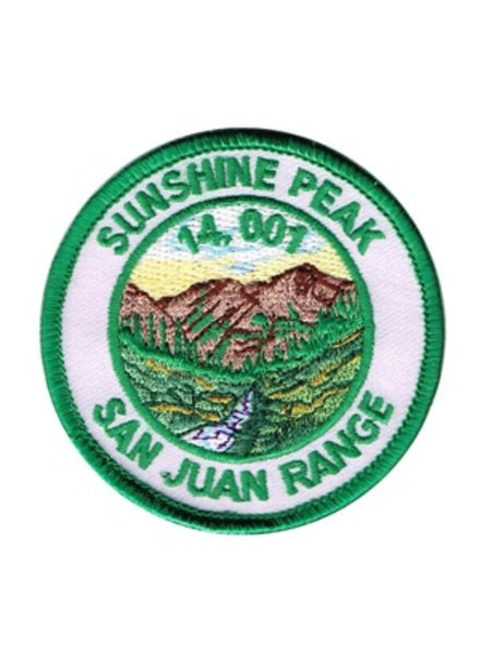 PATCH WORKS Sunshine Peak Patch