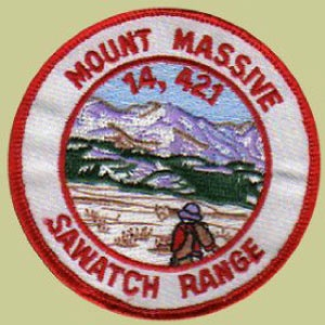 PATCH WORKS Mount Massive Patch