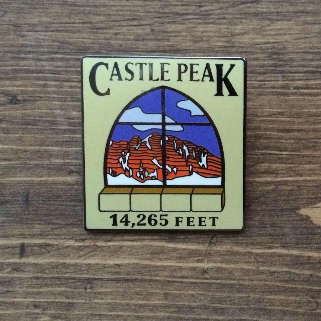 TOPP Castle Peak Pin