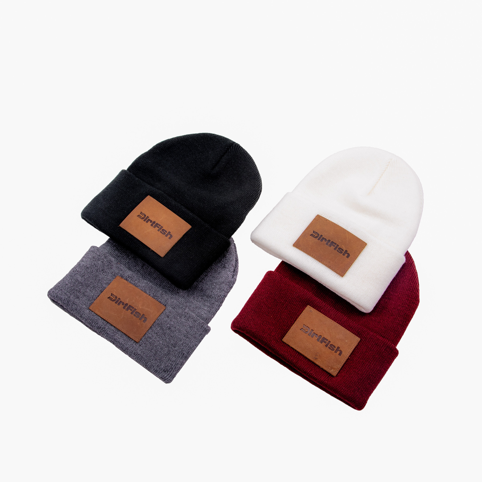 Knit Beanie w/ patch