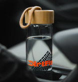 Glass Tread water bottle