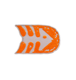 Patch Fish - Grey