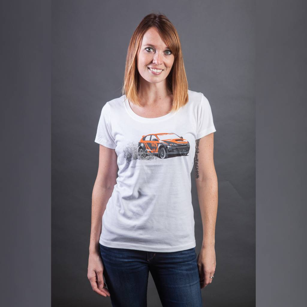 Ladies Scoop Neck STI T-Shirt