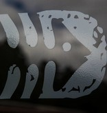 Fish Decal Grey 6 Inch
