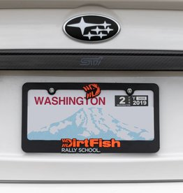 DirtFish License Plate Frame