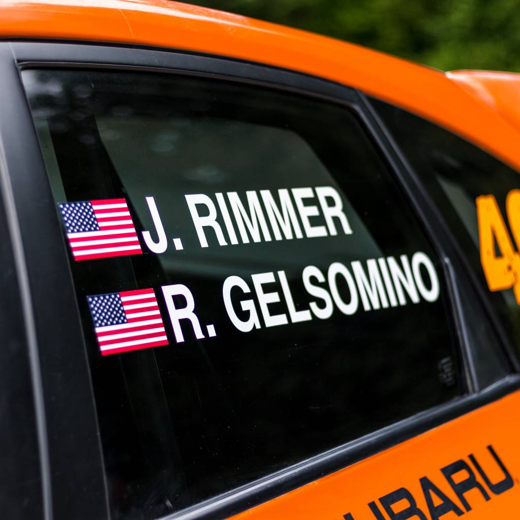 Driver Name with Flag