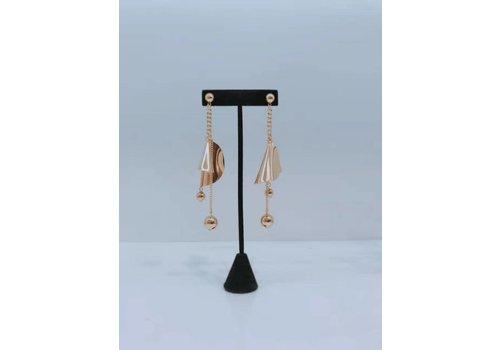 DESIGNER EARRING. B (Gold )