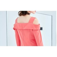 CORAL TOP WITH NARROW STRAPE