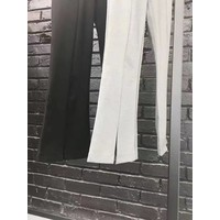 OCTOBERTWELVE LONG PANTS WITH VENT