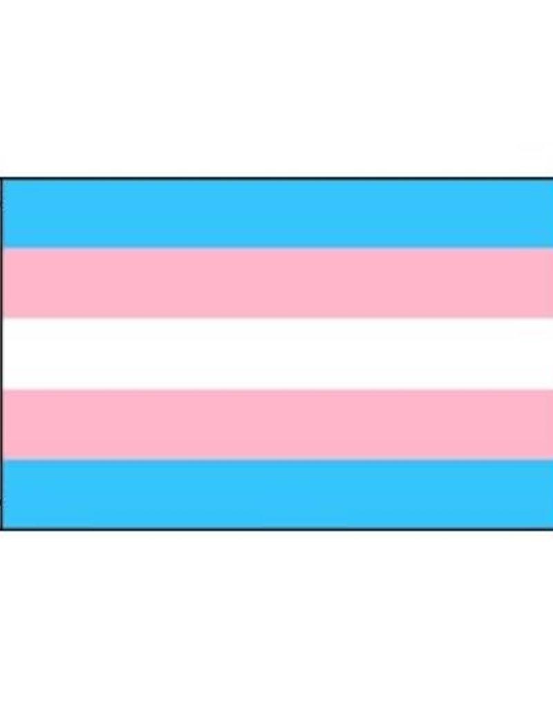Transgender Polyester Flag 3' 5'