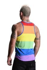 Andrew Christian Ultra Pride Rainbow Tank Top