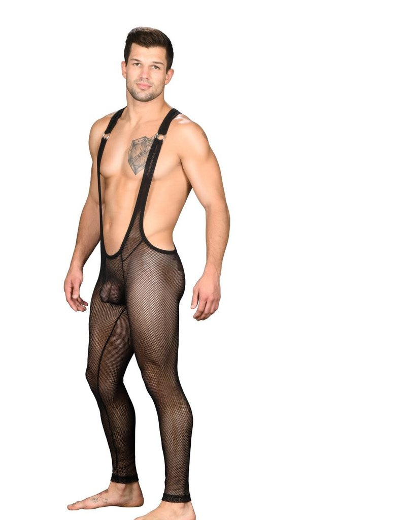 Andrew Christian Furry DTF Body Suit