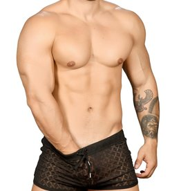 Andrew Christian Hard Burnout Jogger Shorts