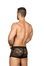 Andrew Christian Flare Lace Jogger Shorts