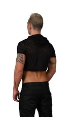 Andrew Christian Hard Burnout Cropped Hoodie