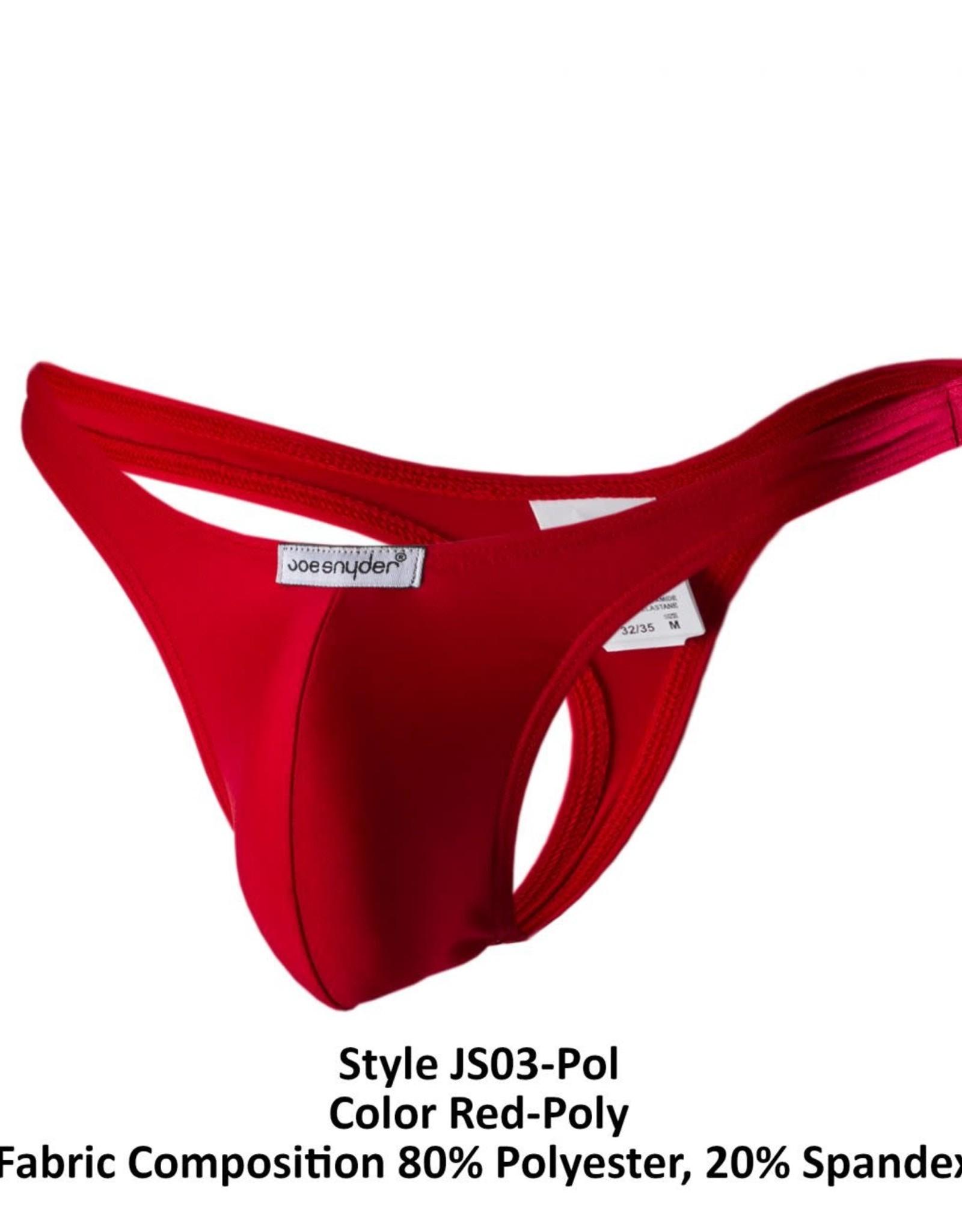 Joe Snyder Polyester Thong