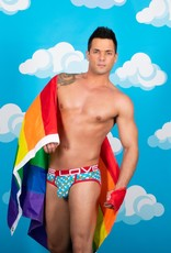 Andrew Christian Love Pride Rainbow Brief