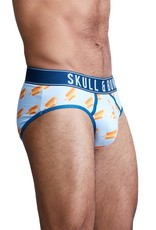 Skull & Bones Bite Me Creamscicle Brief