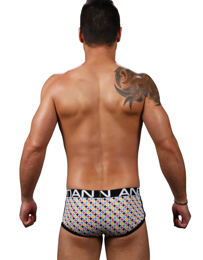 Andrew Christian Mod Squad Mesh Boxers W/ Almost Naked