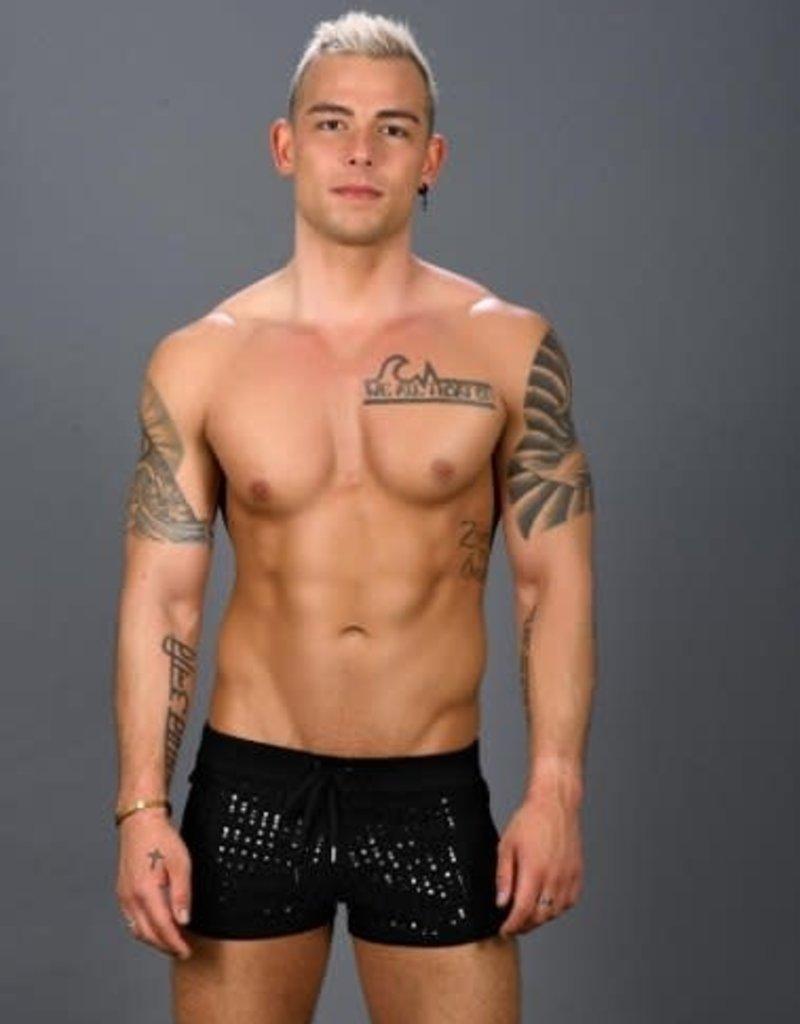 Andrew Christian Dazzle Jogger Shorts