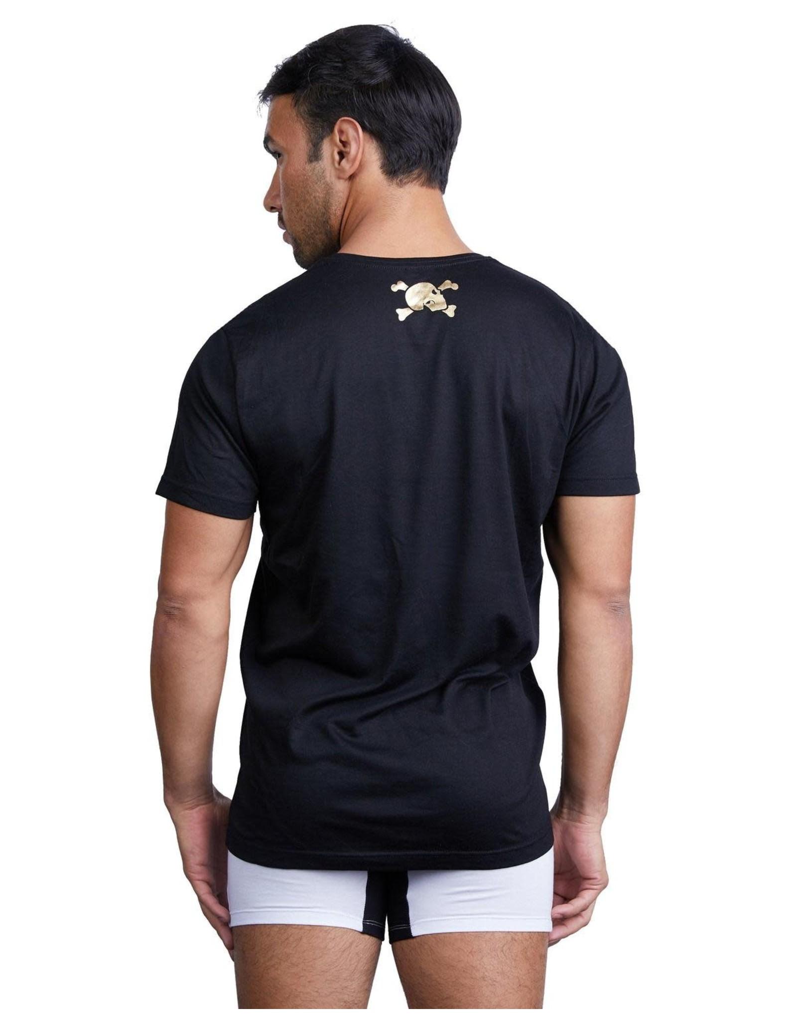 Skull & Bones Barcode T Shirt