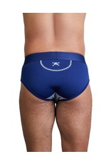 Skull & Bones Classic Brief Navy