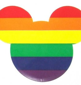 Rainbow Mouse Cling