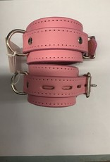 The Leather Union Pink Cuffs