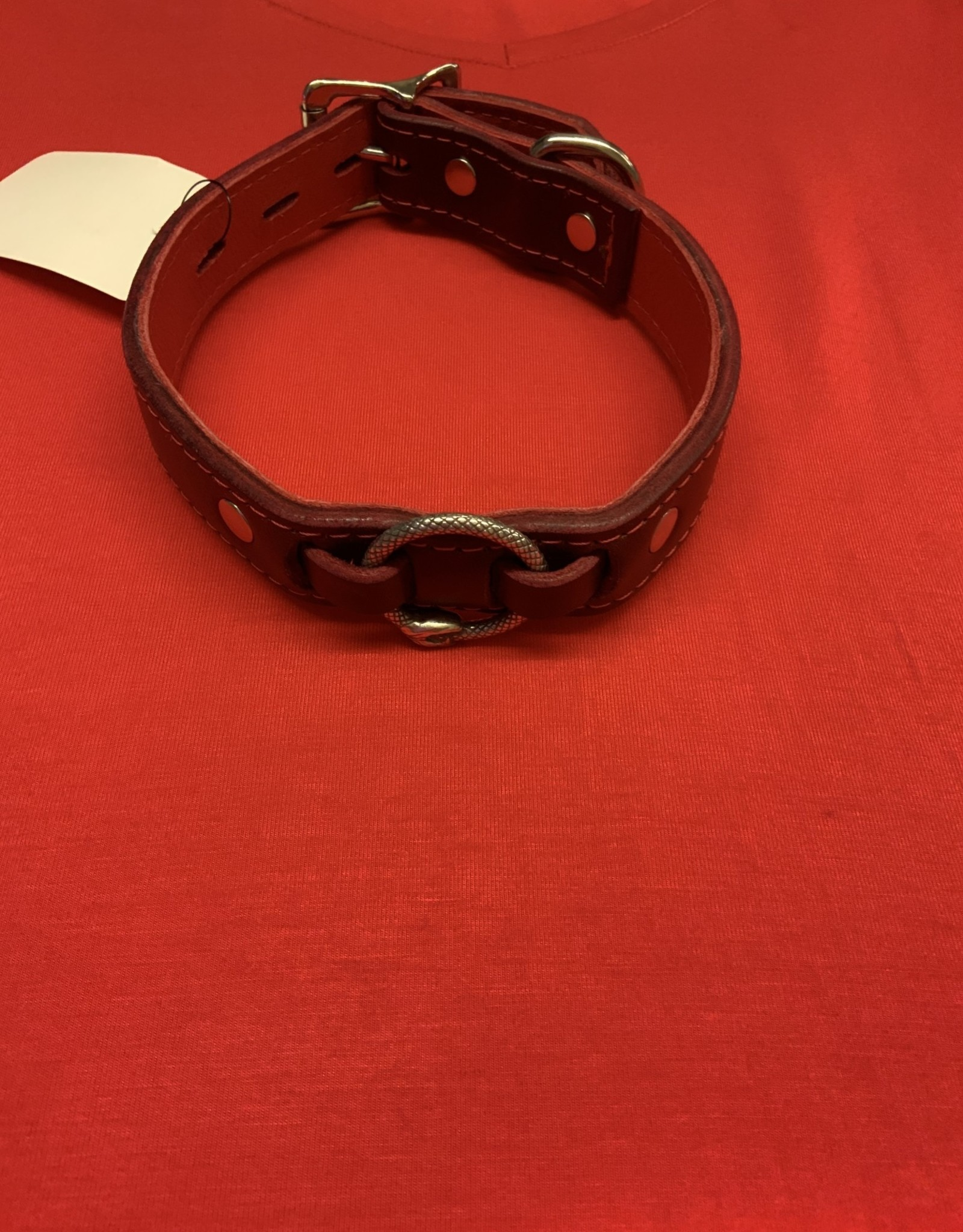 The Leather Union Snake Collar