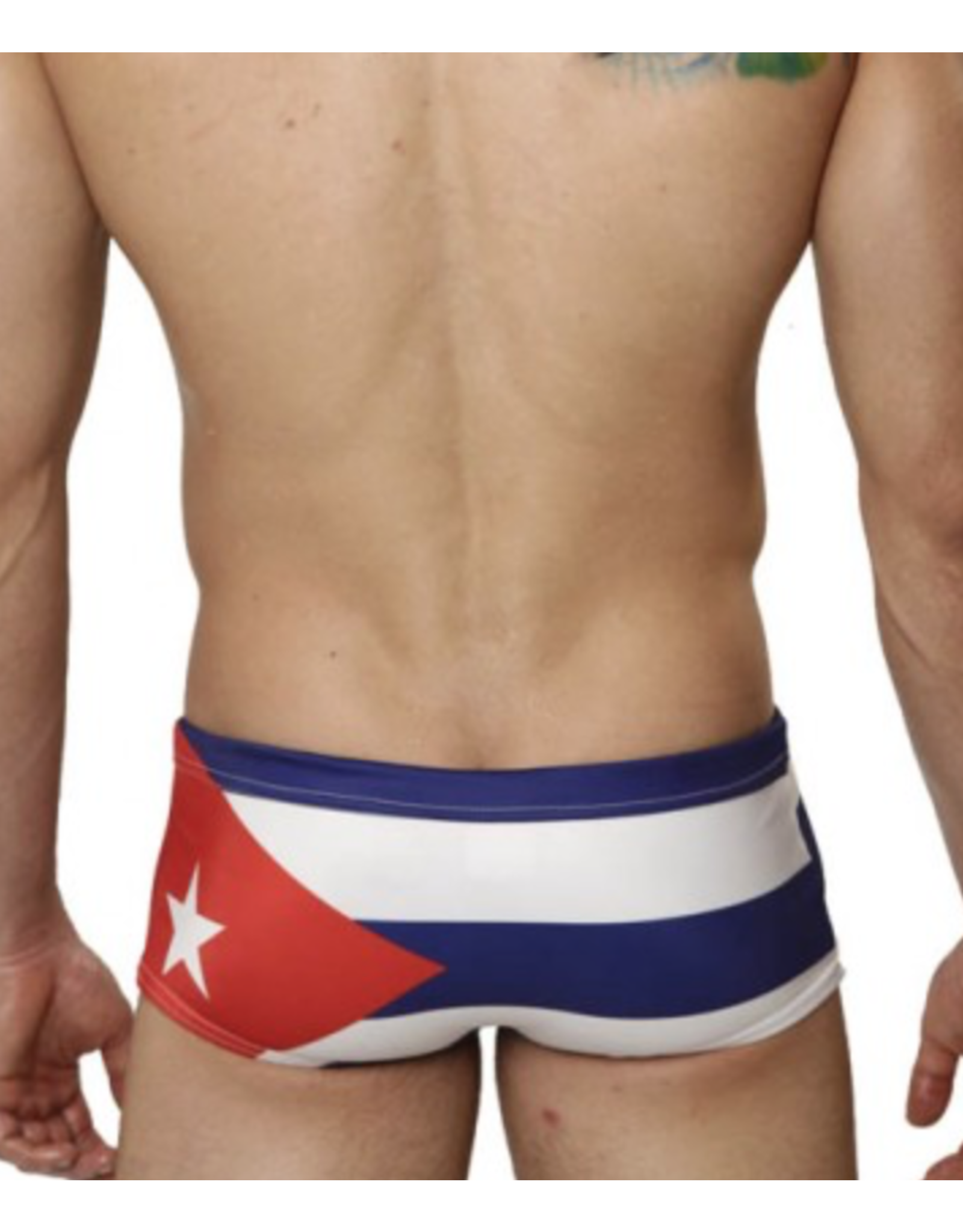 Mensuas Cuba Flag Swim Trunk