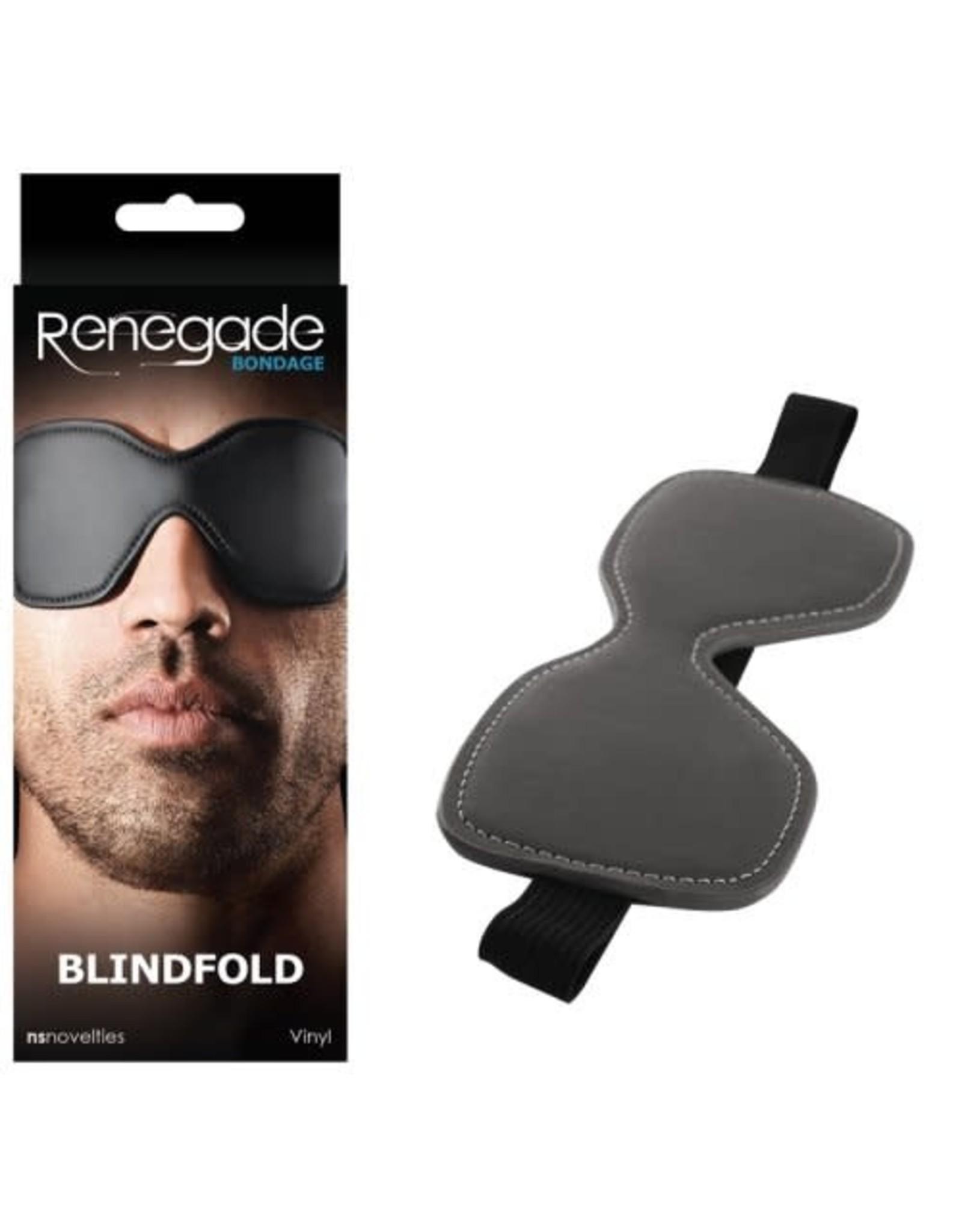 Renegade Bondage - Blindfold - Black
