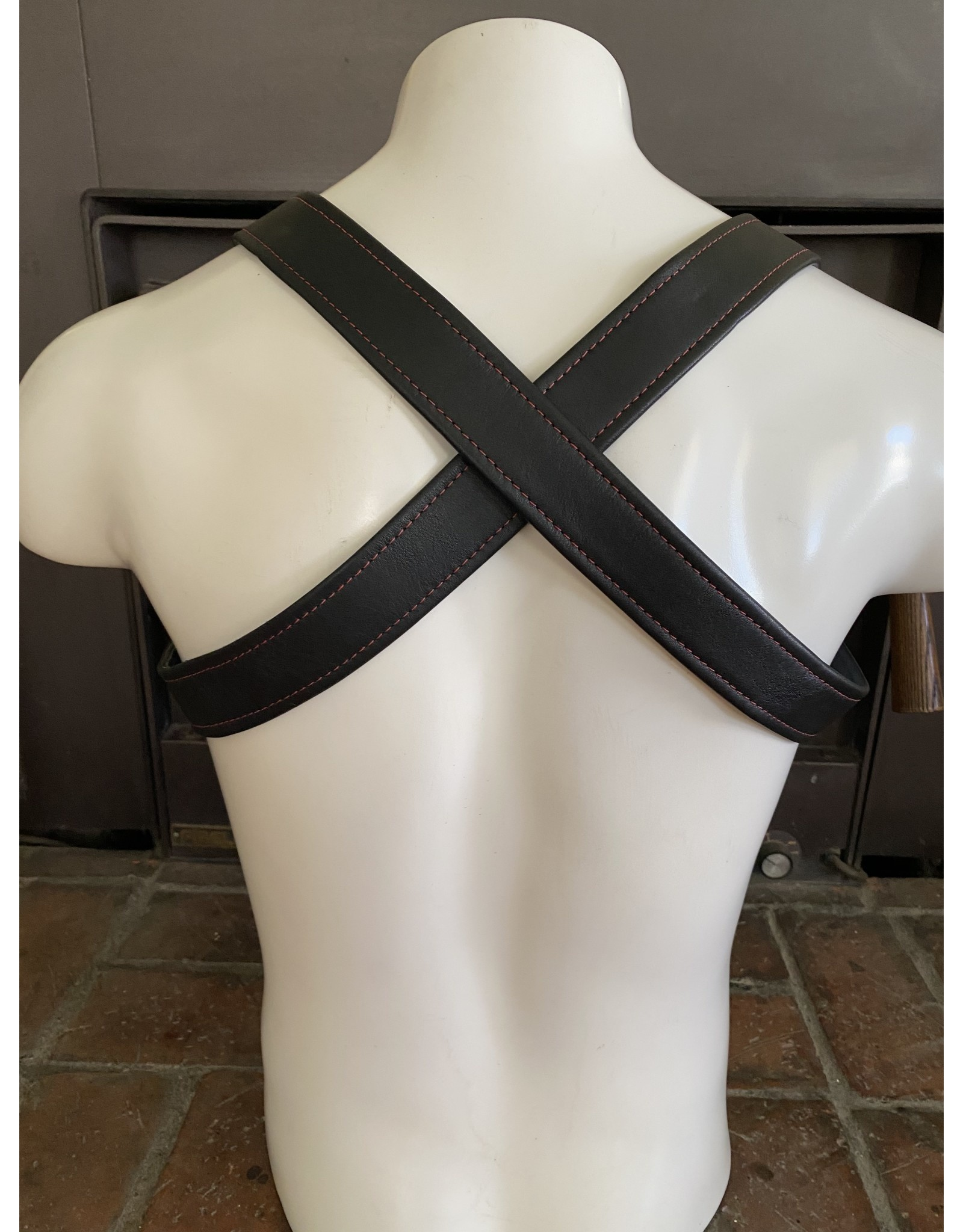 The Leather Union Cross Back Harness