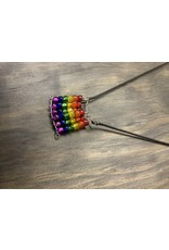 Minxiejewlr Rainbow Flag Necklace