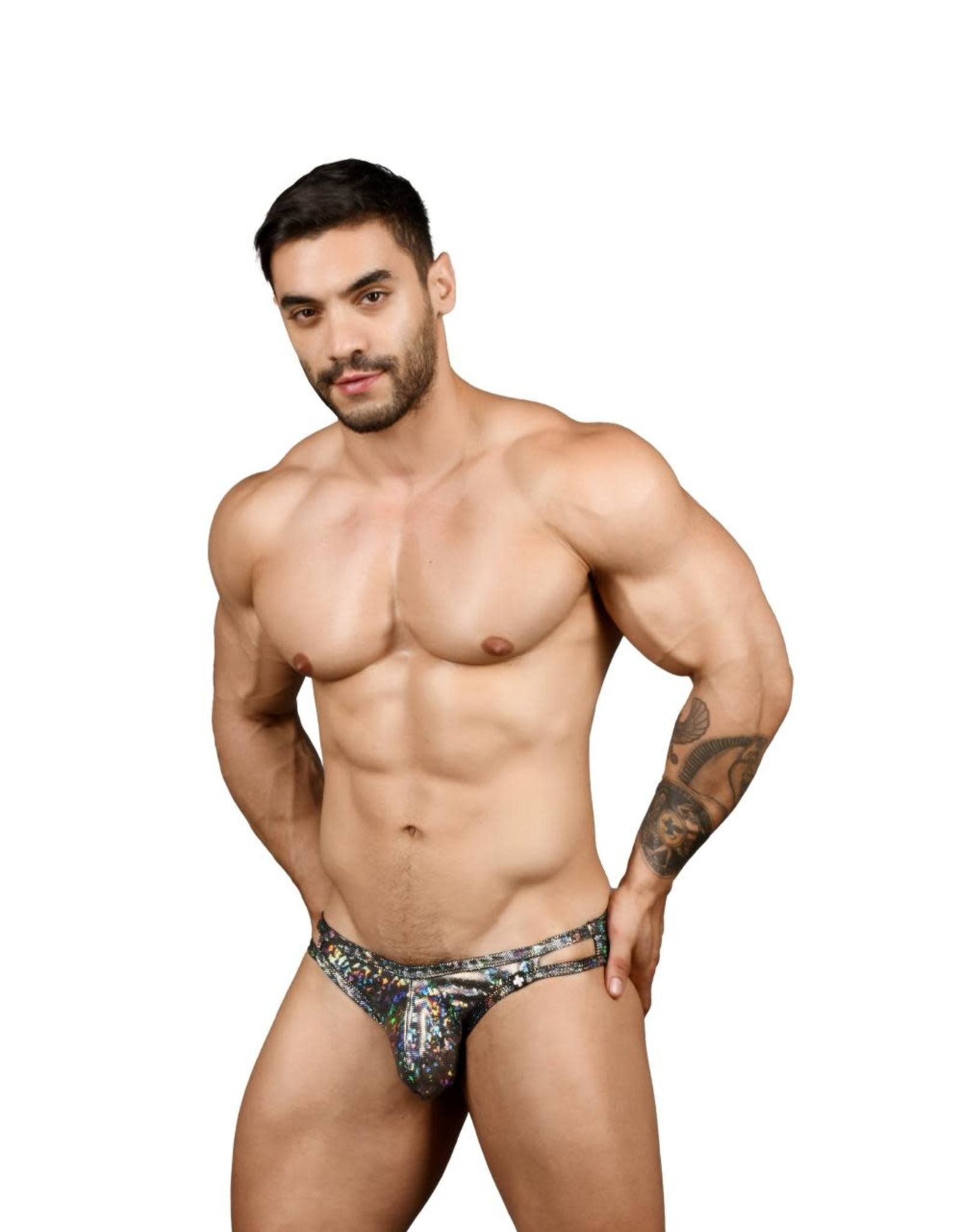 Andrew Christian Disco Bikini w/ Almost Naked