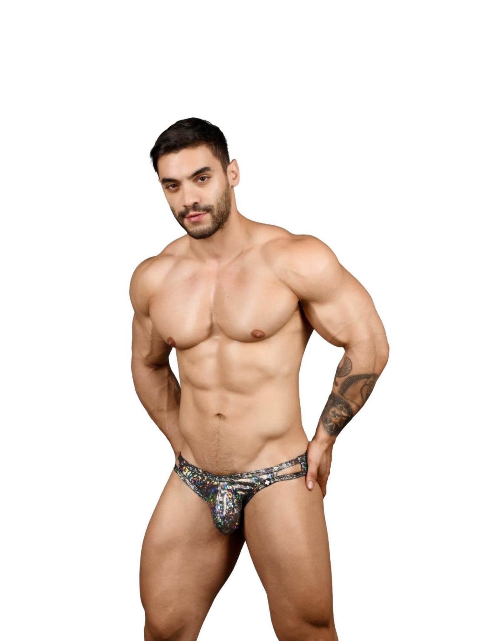 Andrew Christian Disco Bikini w/ Almost Naked