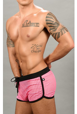Andrew Christian Love Naughty Mesh Jogger shorts