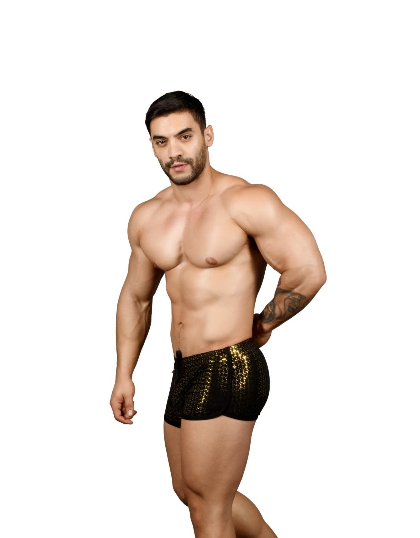 Andrew Christian Nightlife sparkle Dance Shorts