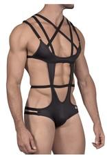 Candyman Strapped Bodysuit