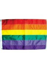 Nylon Rainbow Flag 2' x 3'
