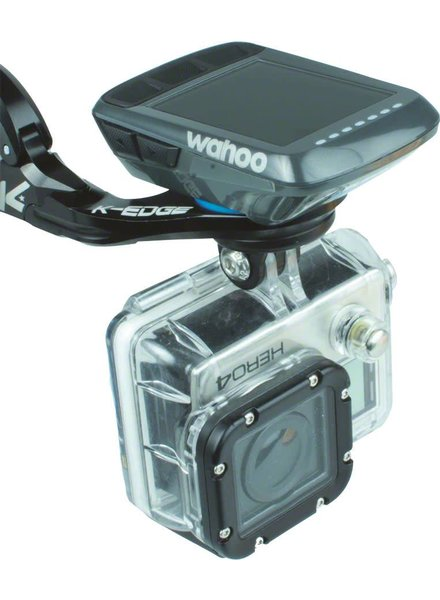 K-Edge K-EDGE Wahoo Bolt Combo Handlebar Mount, 31.8mm, Black