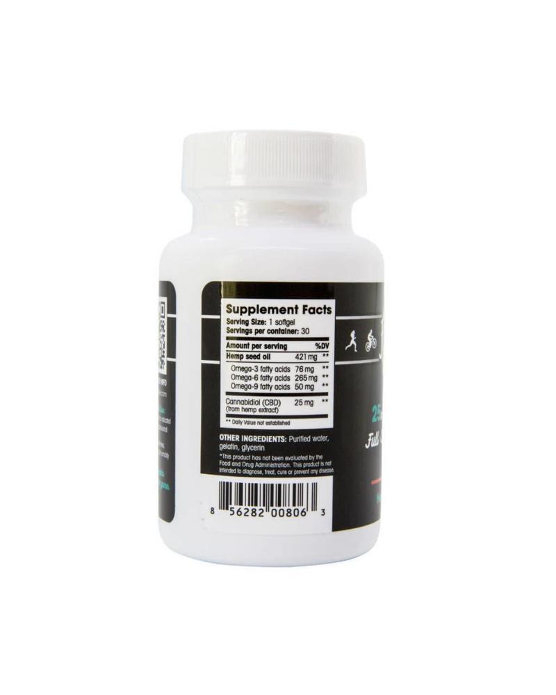 Floyd's of Leadville CBD Full Spectrum Softgel, 25mg x 30 gels