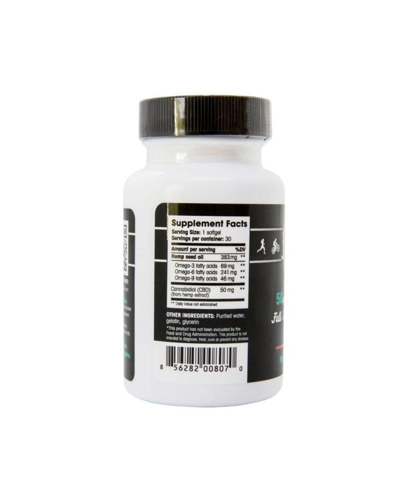 Floyd's of Leadville CBD Full Spectrum Softgel, 50mg x 30 gels
