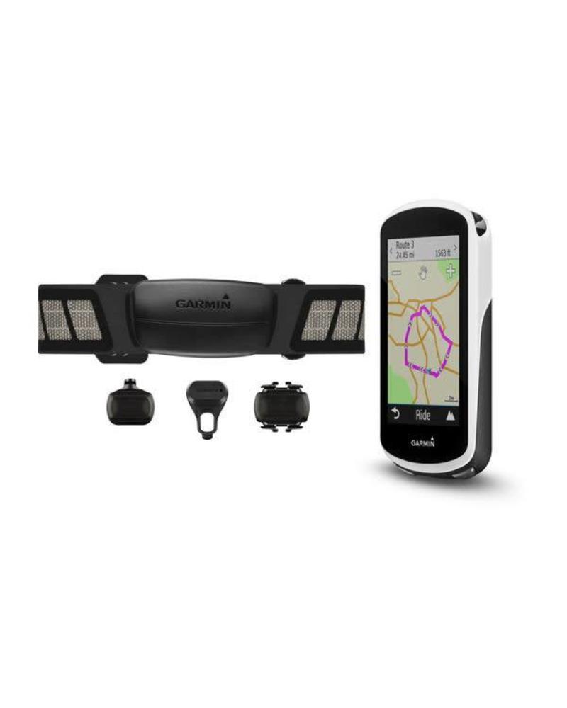 Garmin Garmin Edge 1030 GPS Cycling Computer Bundle: Black