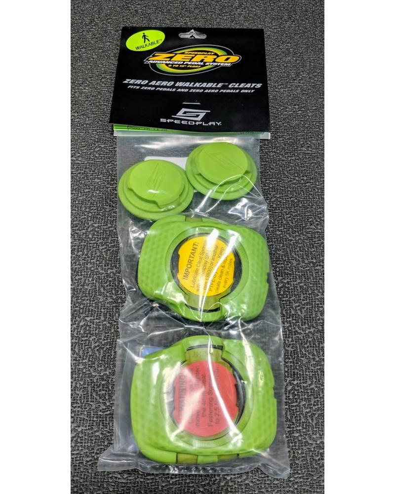 Speedplay ZERO Aero Walkable Cleats Team Green