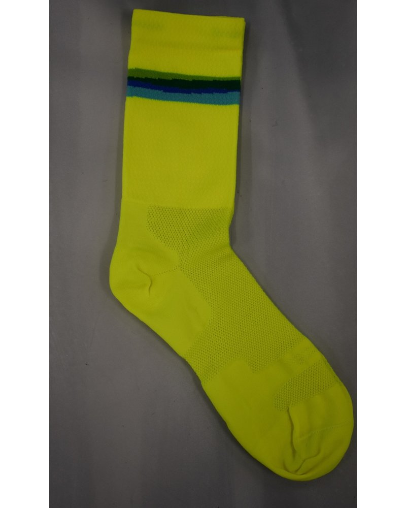Defeet SATURN HI-VIS YELLOW/ FOUR ALTERNATE COLORS L