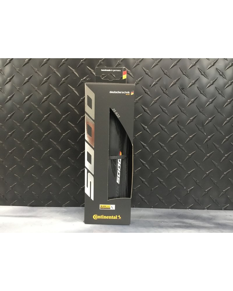 Continental Grand Prix 5000 700x25 Black Chili
