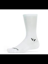 Swiftwick Swiftwick Aspire Seven Socks - 7 inch, White, Large