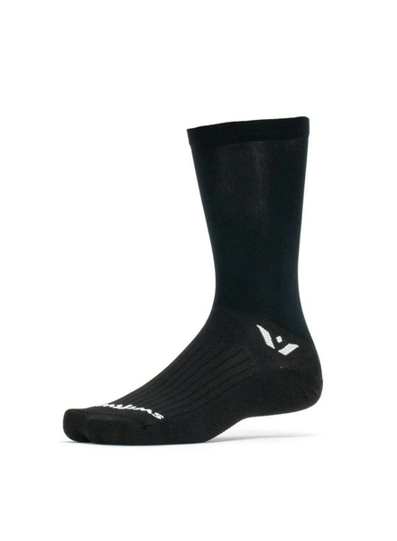 Swiftwick Swiftwick Aspire Seven Socks - 7 inch, Black, Large